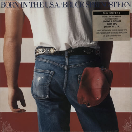 Bruce Springsteen Born In The U.S.A. - RSD 15 vinyl LP album (LP record) US SPRLPBO628246