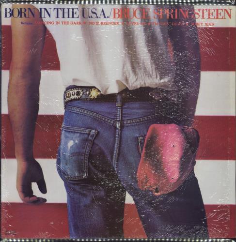 Bruce Springsteen Born In The U.S.A. vinyl LP album (LP record) Philippino SPRLPBO713007