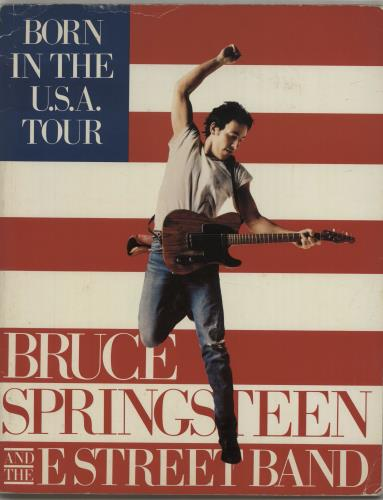 Bruce Springsteen Born In The USA - KCP Invitation/RTL Archive memorabilia French SPRMMBO675222