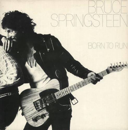 Bruce Springsteen Born To Run - Red Label vinyl LP album (LP record) UK SPRLPBO197576