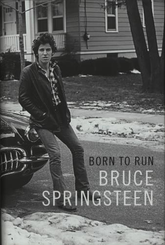 Bruce Springsteen Born To Run book UK SPRBKBO661251