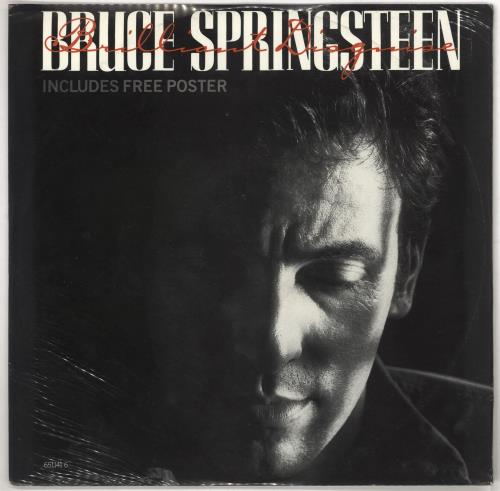 "Bruce Springsteen Brilliant Disguise + Poster - Sealed 12"" vinyl single (12 inch record / Maxi-single) UK SPR12BR733417"