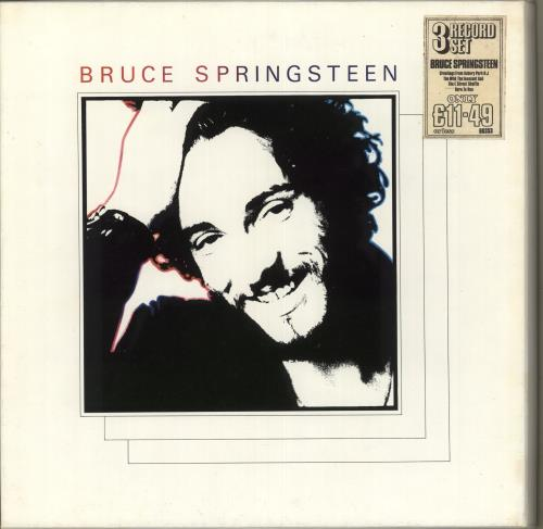Bruce Springsteen Bruce Springsteen Vinyl Box Set UK SPRVXBR714172