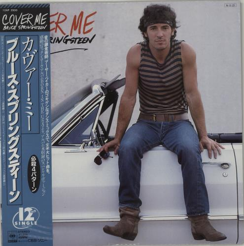 """Bruce Springsteen Cover Me - Sealed 12"""" vinyl single (12 inch record / Maxi-single) Japanese SPR12CO674637"""