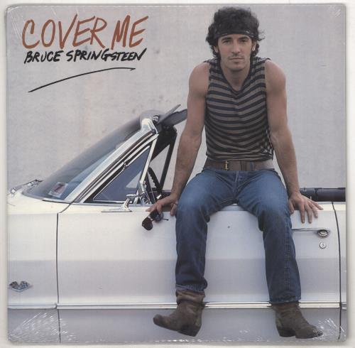 "Bruce Springsteen Cover Me - Sealed 12"" vinyl single (12 inch record / Maxi-single) US SPR12CO733415"