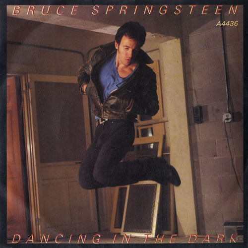 "Bruce Springsteen Dancing In The Dark - P/S - Inj 7"" vinyl single (7 inch record) UK SPR07DA565364"