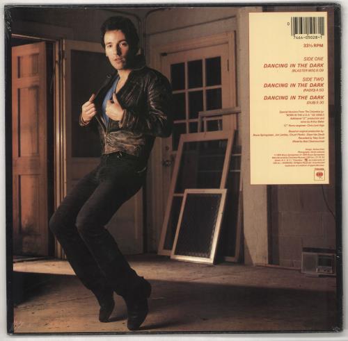 """Bruce Springsteen Dancing In The Dark - Sealed 12"""" vinyl single (12 inch record / Maxi-single) US SPR12DA733418"""
