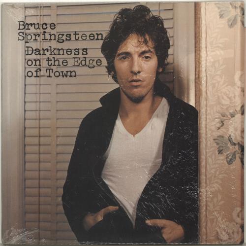 Bruce Springsteen Darkness On The Edge Of Town - 1st - Complete vinyl LP album (LP record) UK SPRLPDA597134