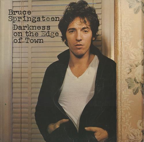 Bruce Springsteen Darkness On The Edge Of Town - 1st - EX vinyl LP album (LP record) UK SPRLPDA457462