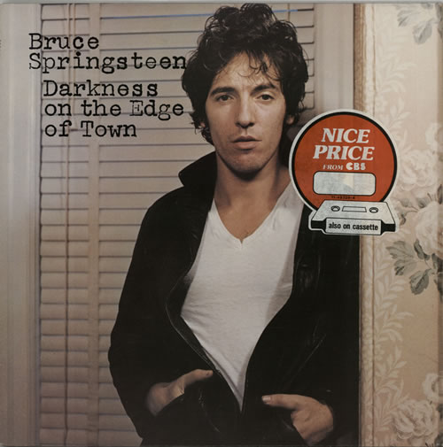 Bruce Springsteen Darkness On The Edge Of Town - 2nd + Insert vinyl LP album (LP record) UK SPRLPDA316483