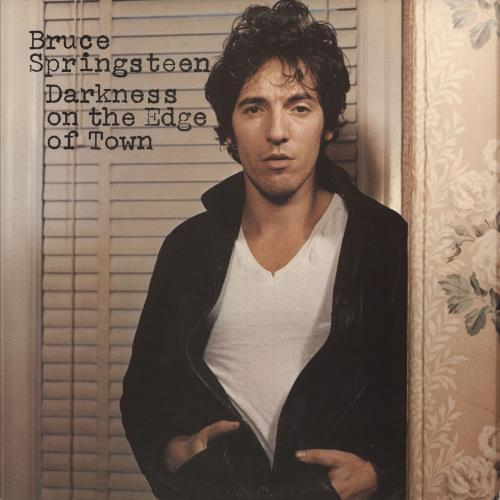 Bruce Springsteen Darkness On The Edge Of Town - gold stamp vinyl LP album (LP record) UK SPRLPDA283869