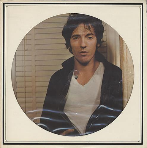 Bruce Springsteen Darkness On The Edge Of Town - Opened shrink picture disc LP (vinyl picture disc album) US SPRPDDA313434
