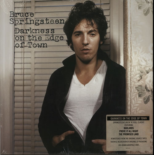 Bruce Springsteen Darkness On The Edge Of Town - RSD 15 vinyl LP album (LP record) US SPRLPDA628241