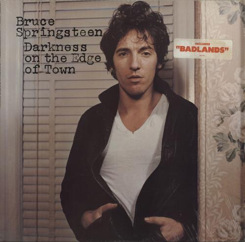 Bruce Springsteen Darkness On the Edge Of Town - Stickered Shrink vinyl LP album (LP record) US SPRLPDA563584