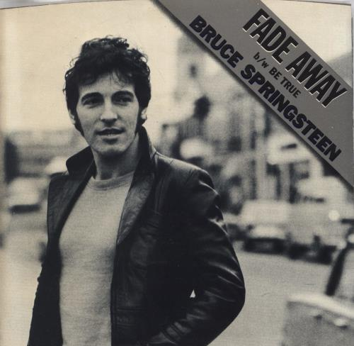Image result for bruce springsteen fade away images