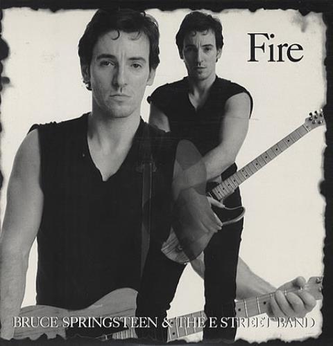 "Bruce Springsteen Fire 12"" vinyl single (12 inch record / Maxi-single) US SPR12FI23767"