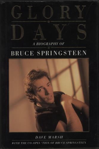 Bruce Springsteen Glory Days book UK SPRBKGL668744