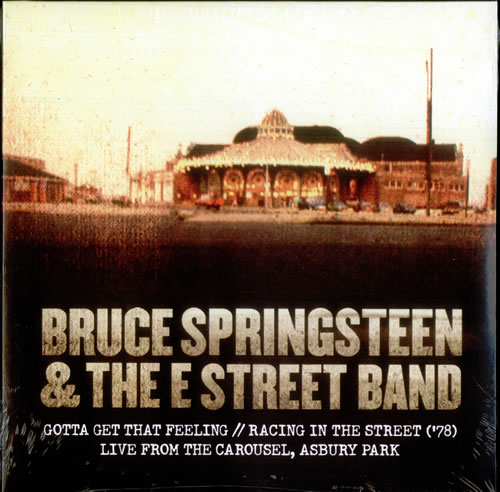 "Bruce Springsteen Gotta Get That Feeling - RSD11 - Sealed 10"" vinyl single (10"" record) US SPR10GO536512"