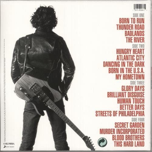 Bruce Springsteen Greatest Hits - Sealed 2-LP vinyl record set (Double Album) UK SPR2LGR735599