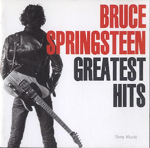 Bruce Springsteen Greatest Hits CD album (CDLP) UK SPRCDGR243683