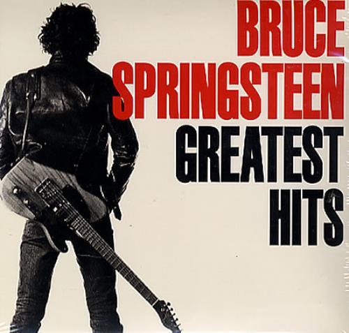 Bruce Springsteen Greatest Hits Sealed Us Promo Cd Album