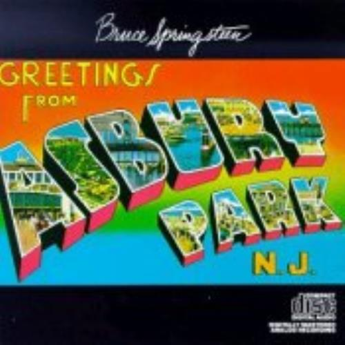 Bruce Springsteen Greetings From Asbury Park CD album (CDLP) UK SPRCDGR243685