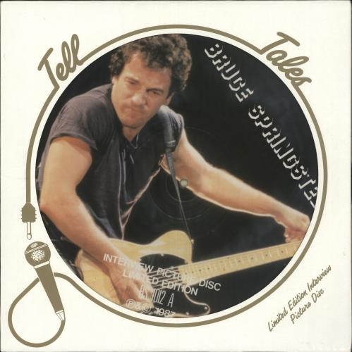 Bruce Springsteen Interview Picture Disc picture disc LP (vinyl picture disc album) UK SPRPDIN334717