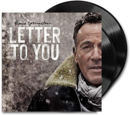 Bruce Springsteen Letter To You - Black Vinyl Etched - Sealed 2-LP vinyl record set (Double Album) UK SPR2LLE755101