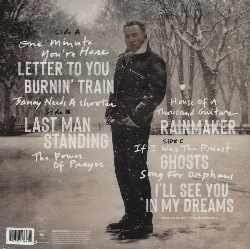 Bruce Springsteen Letter To You - Grey Vinyl - Sealed 2-LP vinyl record set (Double Album) UK SPR2LLE755102