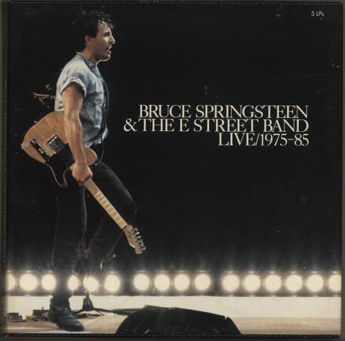 Bruce Springsteen Live 1975-1985 - VG Vinyl Box Set UK SPRVXLI672173
