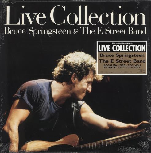 """Bruce Springsteen Live Collection - Sealed 12"""" vinyl single (12 inch record / Maxi-single) Japanese SPR12LI333379"""