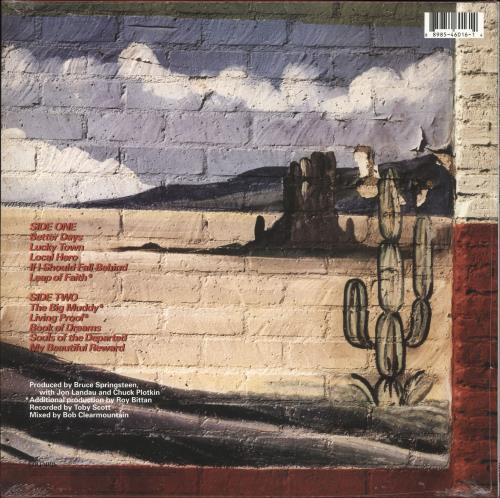 Bruce Springsteen Lucky Town - Sealed vinyl LP album (LP record) UK SPRLPLU736440