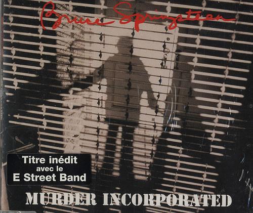 "Bruce Springsteen Murder Incorporated CD single (CD5 / 5"") Austrian SPRC5MU45085"