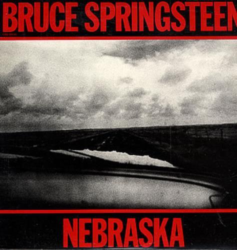 Bruce Springsteen Nebraska vinyl LP album (LP record) Israeli SPRLPNE290990