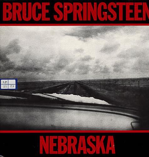 Bruce Springsteen Nebraska vinyl LP album (LP record) Japanese SPRLPNE300152