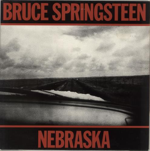 Bruce Springsteen Nebraska vinyl LP album (LP record) Dutch SPRLPNE714061