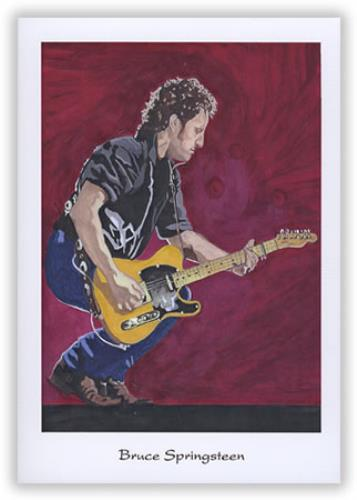 Bruce Springsteen Pack Of Greeting Cards memorabilia US SPRMMPA397710