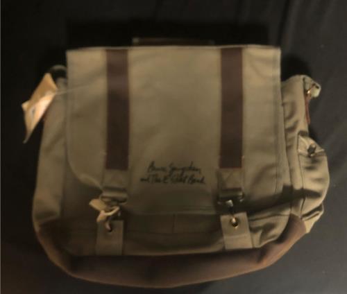 Bruce Springsteen Pathfinder Laptop Bag memorabilia UK SPRMMPA728968