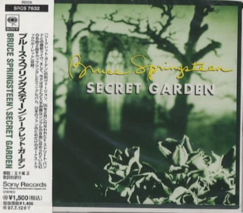 """Bruce Springsteen Secret Garden - Sealed CD single (CD5 / 5"""") Japanese SPRC5SE43570"""