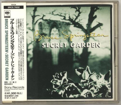 "Bruce Springsteen Secret Garden CD single (CD5 / 5"") Japanese SPRC5SE716958"
