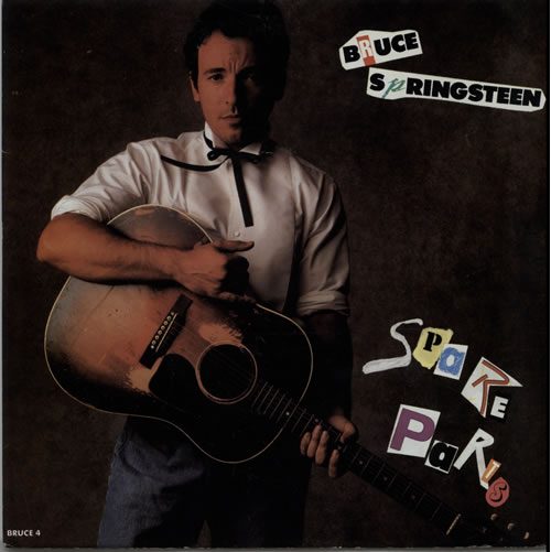 "Bruce Springsteen Spare Parts 7"" vinyl single (7 inch record) UK SPR07SP166052"