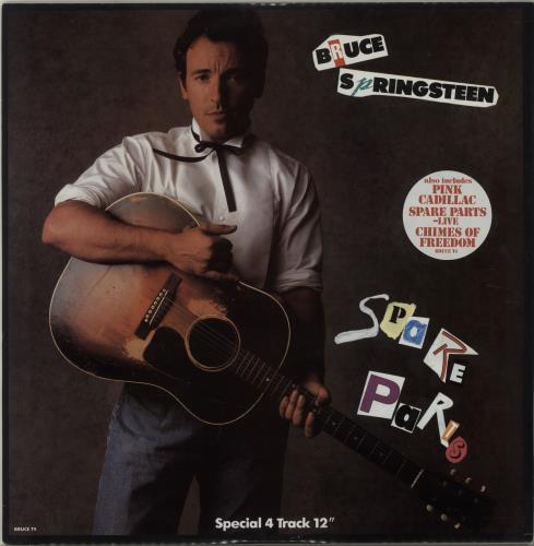 "Bruce Springsteen Spare Parts 12"" vinyl single (12 inch record / Maxi-single) UK SPR12SP41392"