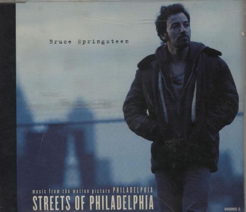 "Bruce Springsteen Streets Of Philadelphia CD single (CD5 / 5"") Austrian SPRC5ST757734"