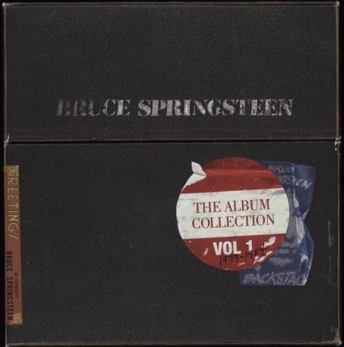 Bruce Springsteen The Album Collection Volume 1: 1973-1984 box set UK SPRBXTH752912