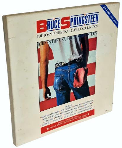 """Bruce Springsteen The Born In The USA 12"""" Single Collection Vinyl Box Set UK SPRVXTH656177"""