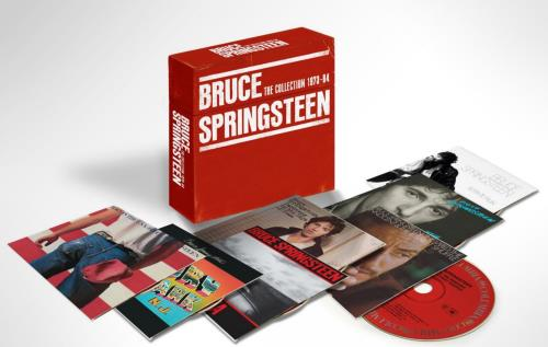 Bruce Springsteen The Collection 1973-84 CD Album Box Set UK SPRDXTH654833