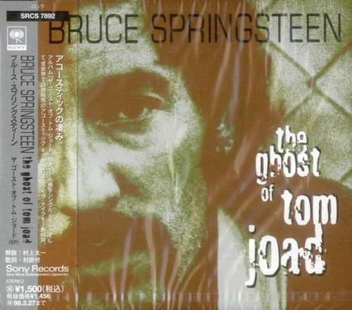 "Bruce Springsteen The Ghost Of Tom Joad CD single (CD5 / 5"") Japanese SPRC5TH53879"