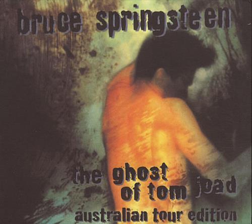Bruce Springsteen The Ghost Of Tom Joad 2 CD album set (Double CD) Australian SPR2CTH78512