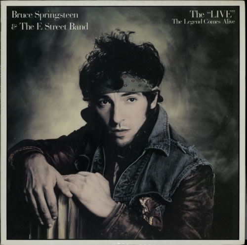 Bruce Springsteen The 'Live' - The Legend Comes Alive + Correct Sheet vinyl LP album (LP record) Japanese SPRLPTH68421