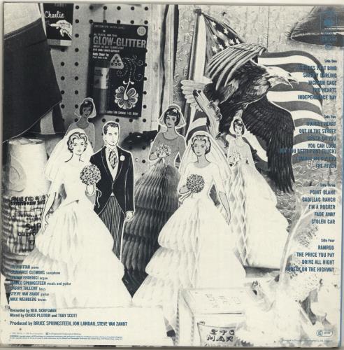 Bruce Springsteen The River + Lyric Insert 2-LP vinyl record set (Double Album) UK SPR2LTH63513